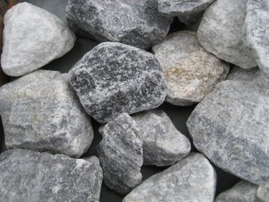 Blaugrauer Marmor 60-90 mm