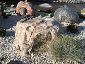 Fliederfarbener Marmor