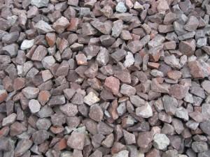 Porphyrsplitt 8-12 mm