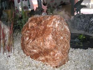 Rotbrauner Kalkstein